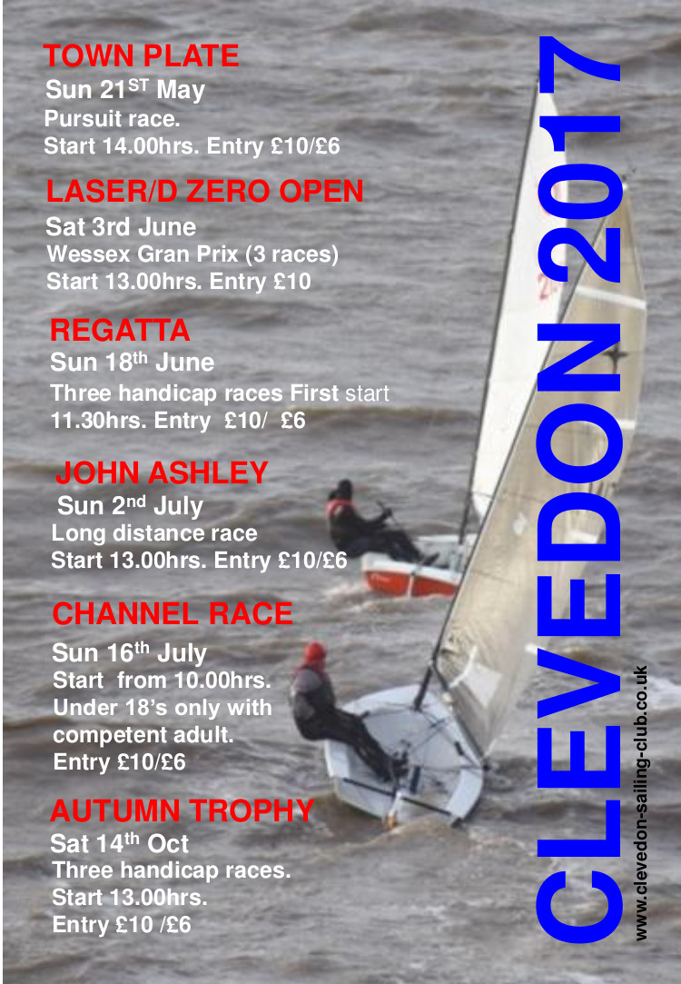 Clevedon Open Meetings 2017